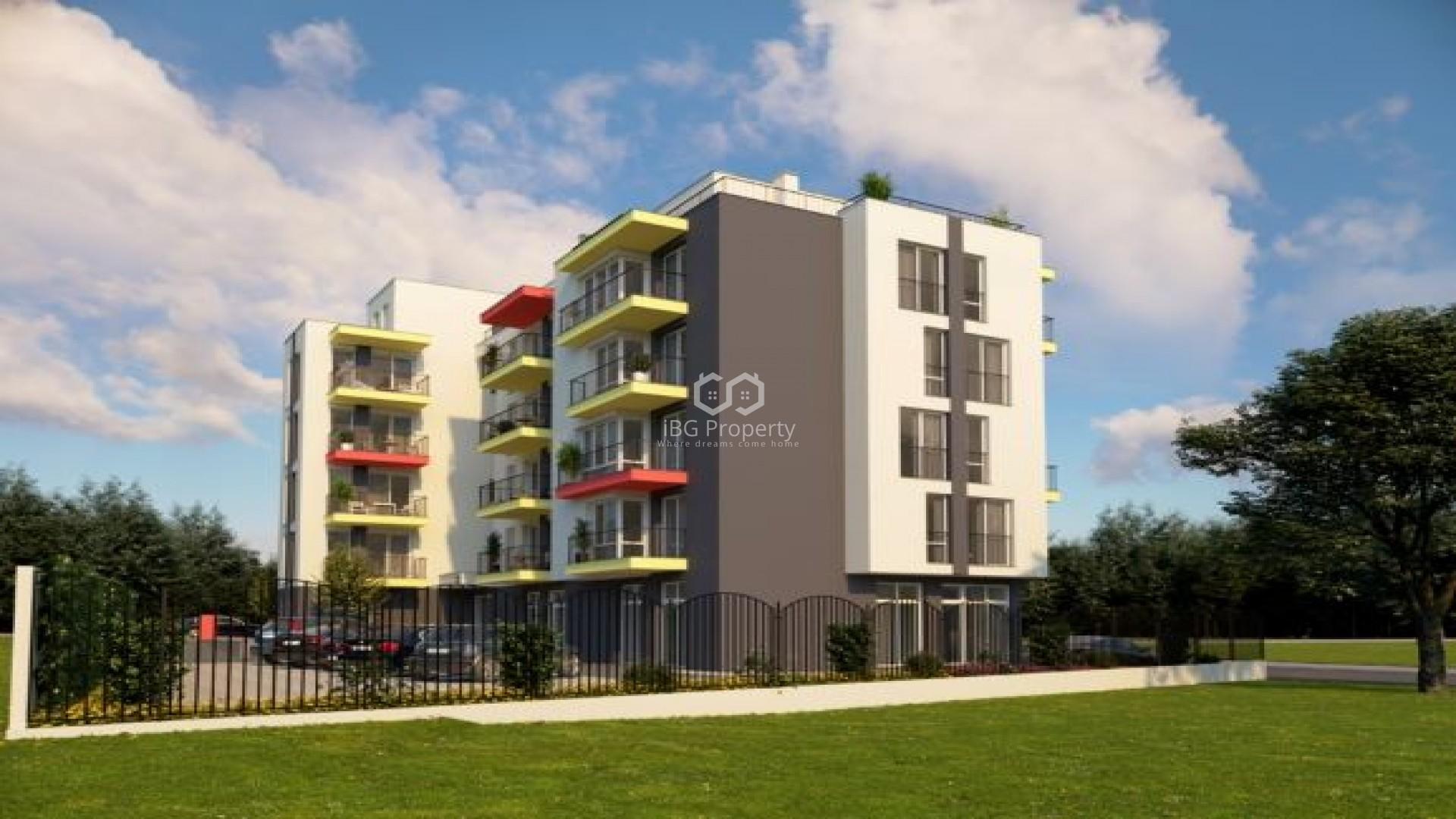 Едностаен апартамент Обзор 37,55 кв.м