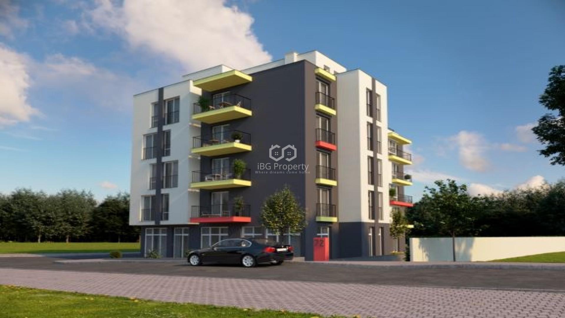 Двустаен апартамент Обзор 65,43 кв.м.