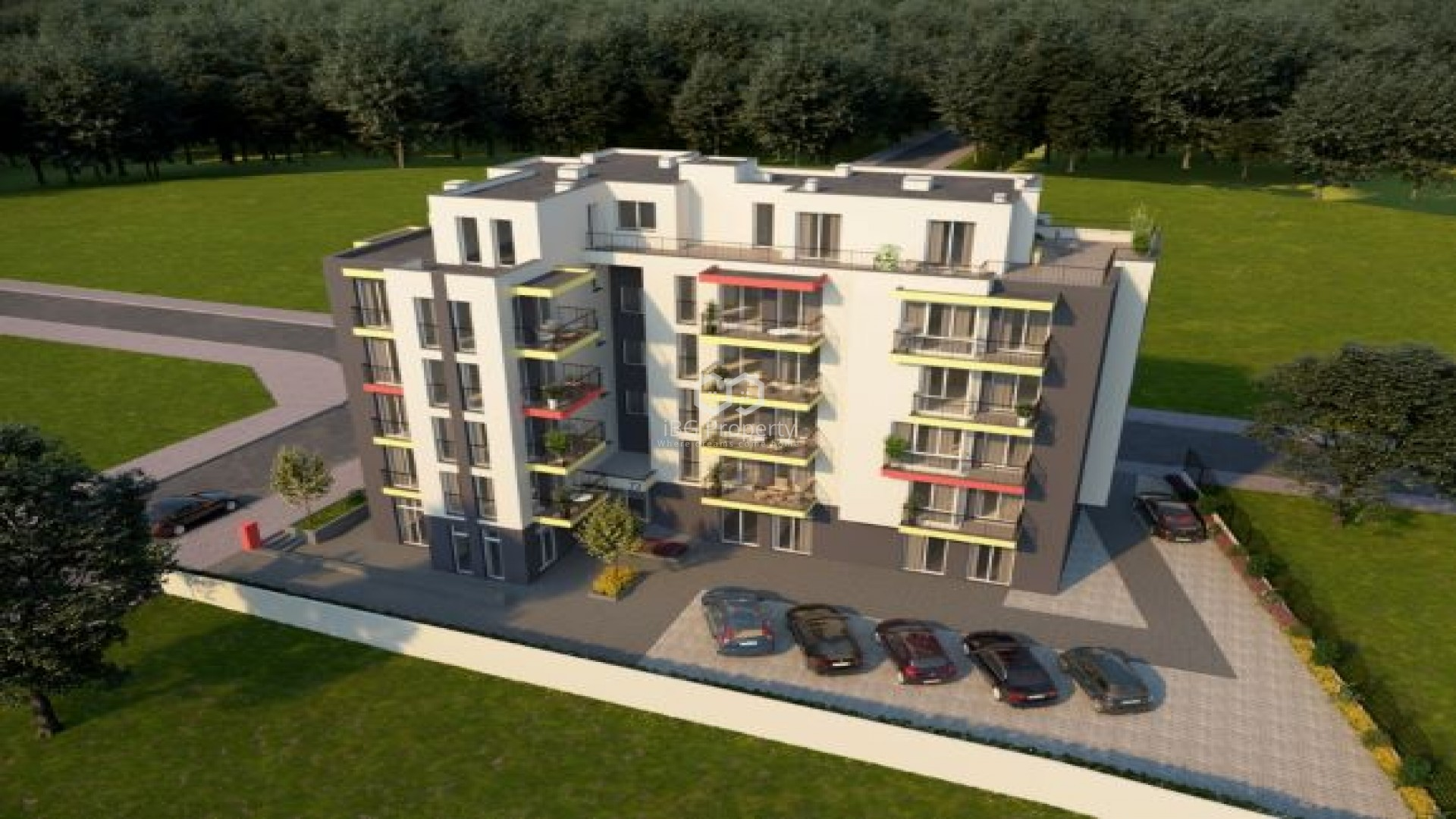 Двустаен апартамент Обзор 64,99 кв.м.
