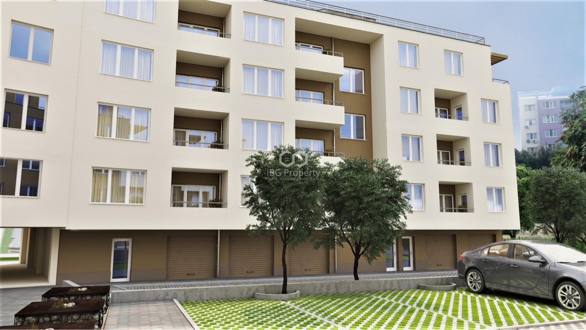 Тристаен апартамент  Бургас 78,94 m2