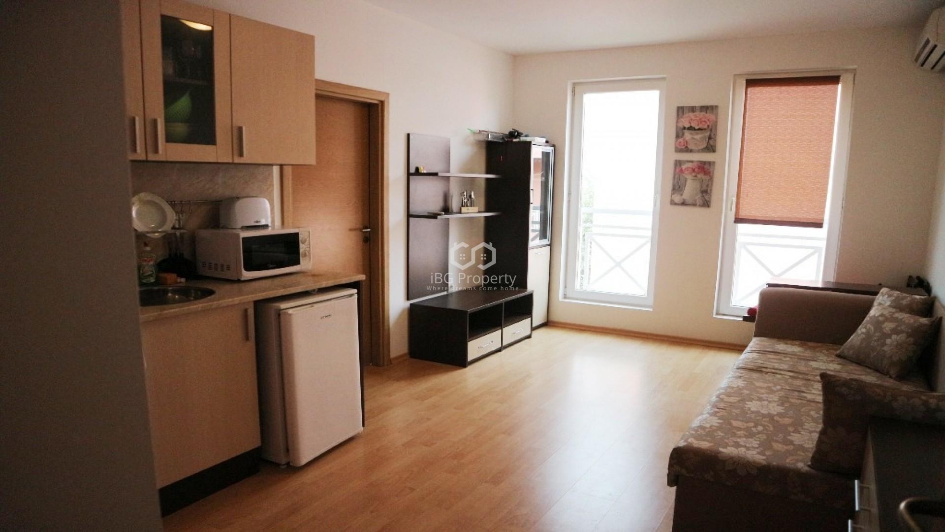 Двустаен апартамент Слънчев Бряг 44 m2